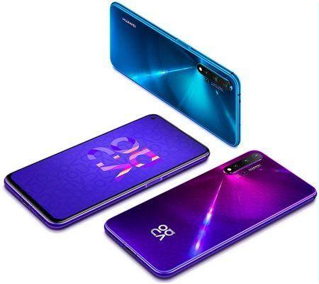 "Smartphone 6,26"" Huawei Nova 5T - 128Go ROM, 6Go RAM (Frontaliers Allemagne)"