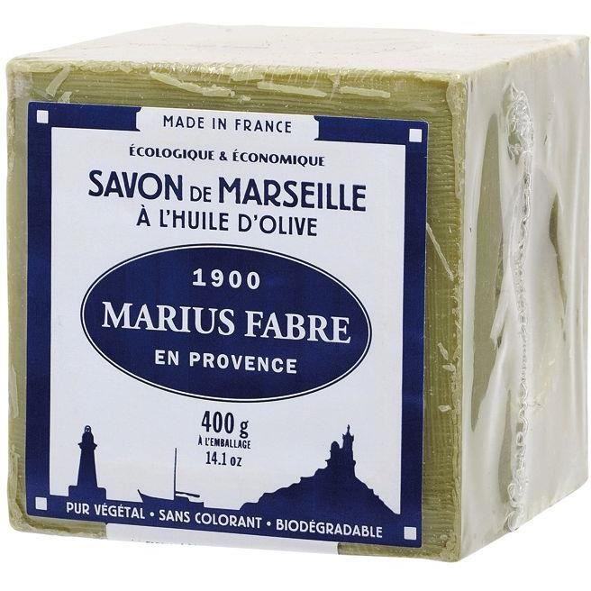 Lot de 3 savons à l'huile d'olive Marius Fabre - 3x 400g