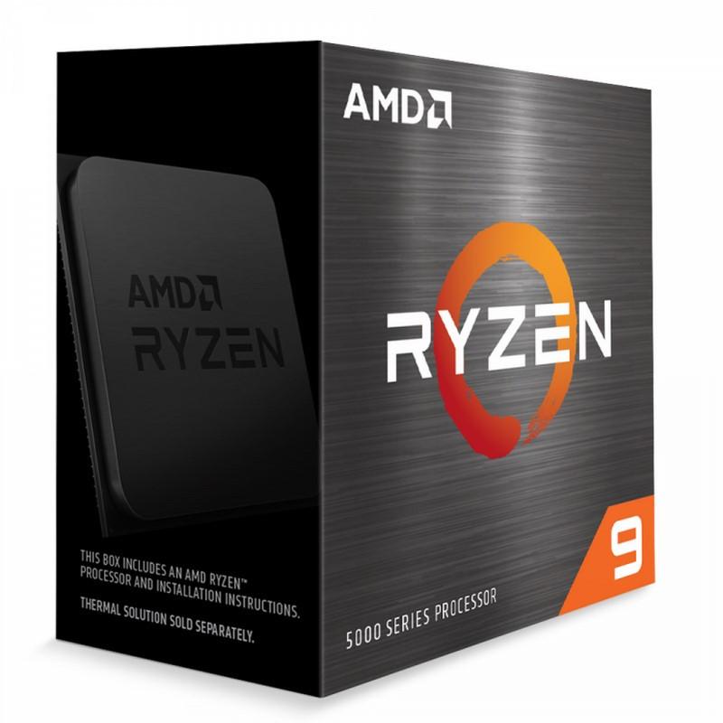 Processeur AMD Ryzen 9 5900X - 3.7 GHz, Mode Turbo à 4.8 GHz (achatnet.fr)