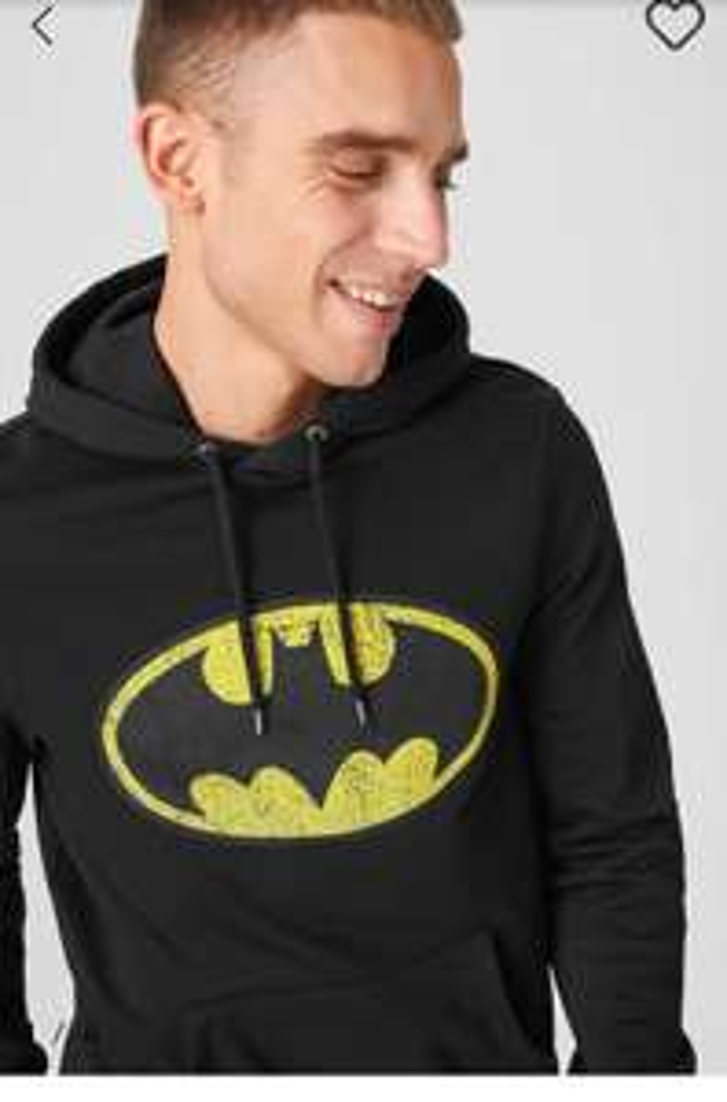 Sweatshirt à capuche Batman