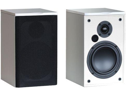 Paire d'enceintes bibliothèque sans fil Advance Acoustic Air 55 - Blanc
