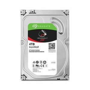 "Disque dur interne 3.5"" Seagate NAS Iron Wolf - 4 To"