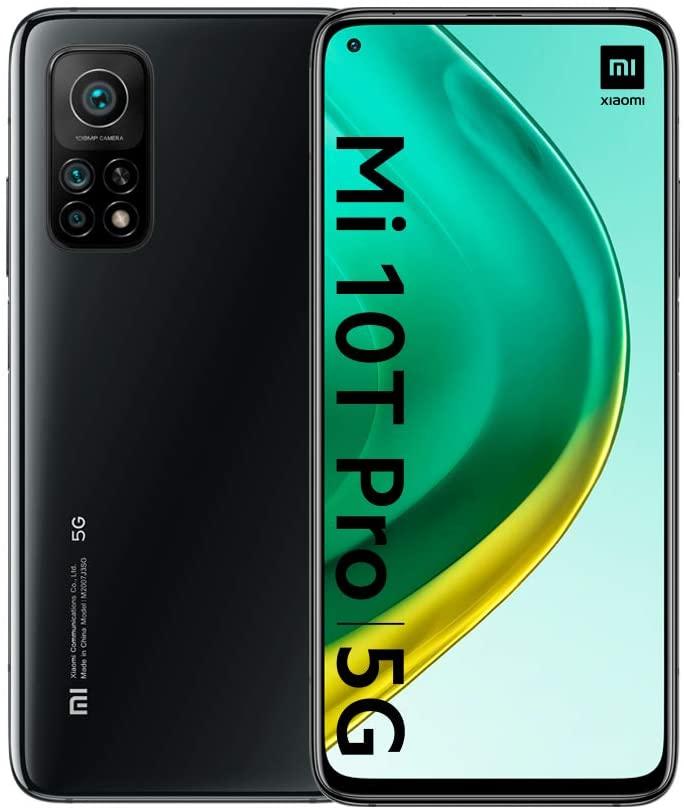 """Smartphone 6.67"""" Xiaomi Mi 10T Pro 5G - full HD+, SnapDragon 865, 8 Go de RAM, 256 Go"""