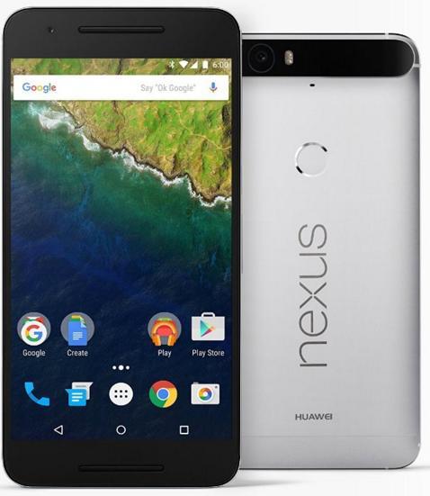 "Smartphone 5.7"" Huawei Nexus 6P 32 Go aluminum"