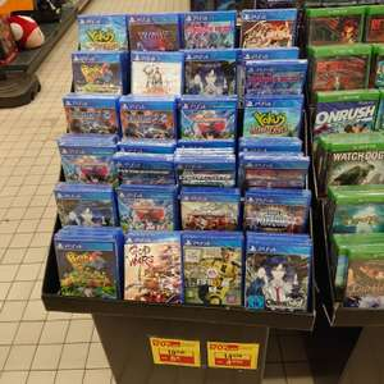 Sélection de jeux vidéos en déstockage (à partir de 3€) - Villers-Semeuse (08)