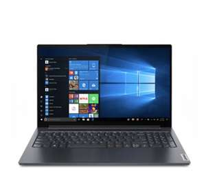 "PC Portable 15.6"" Lenovo Yoga Slim 7i - Full HD IPS, i7-1165G7, RAM 16 Go, SSD 512 Go, Sans OS"