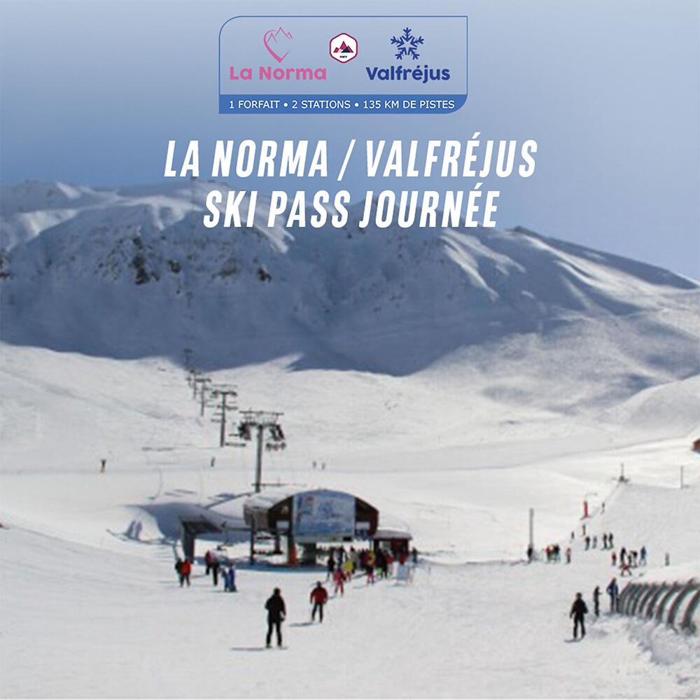 Sélection de Forfaits de ski dans les Alpes, les Pyrénées & le Massif Central - Ex: Forfait journée La Norma (Valable toute la saison)