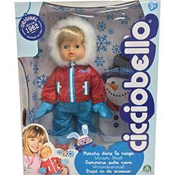 Poupée Cicciobello Marche Dans la neige (via 24,95€ sur le compte fidélité)