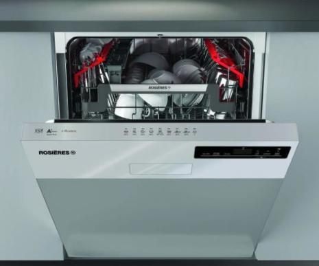 Lave vaisselle encastrable connecté Rosières RDSN1D530PX - 15 couverts, Largeur 60 cm, Classe A+, 44 dB