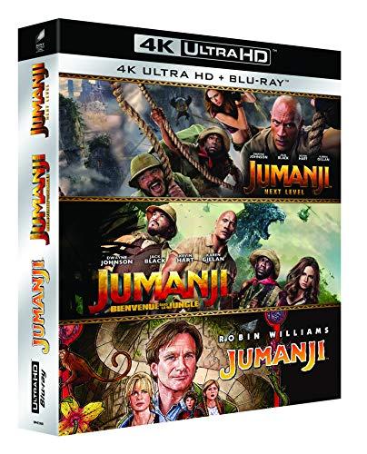 Coffret Blu-ray 4K Jumanji - Trilogie (3 Films)