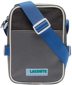 Sacoche homme Lacoste NH3302 - Smoked Pearl, Noir