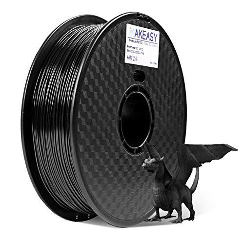 Rouleau de Filament PETG Makeasy - 1Kg, Diamètre 1.75mm (Vendeur tiers)