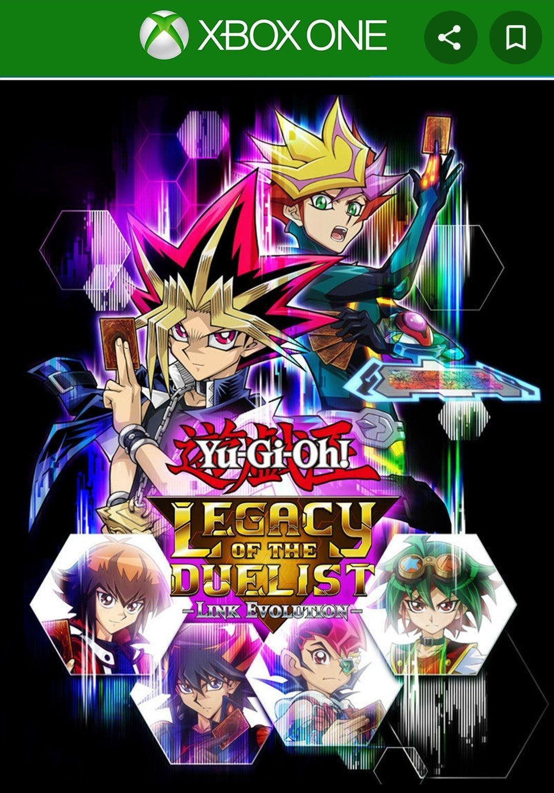 Yu-Gi-Oh! Legacy of the Duelist : Link Evolution sur Xbox One & Series S/X (Dématérialisé)