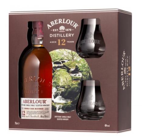 Coffret Whisky Scotch Single Malt Aberlour 12 ans