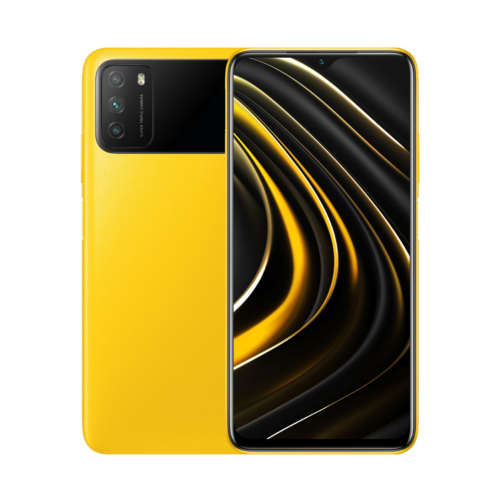 """Smartphone 6.53"""" Xiaomi Poco M3 - 64 Go, 4 Go de RAM"""