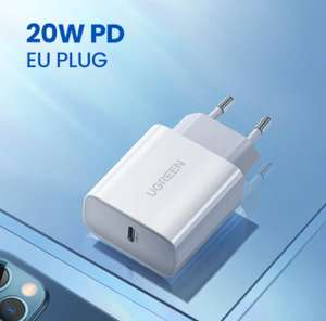 Chargeur rapide USB-C Ugreen - PD 20W, QC4.0
