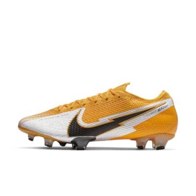 Chaussures de football Nike Mercurial Vapor 13 Elite FG - blanc/jaune ou noir/rouge (du 36 au 47.5)