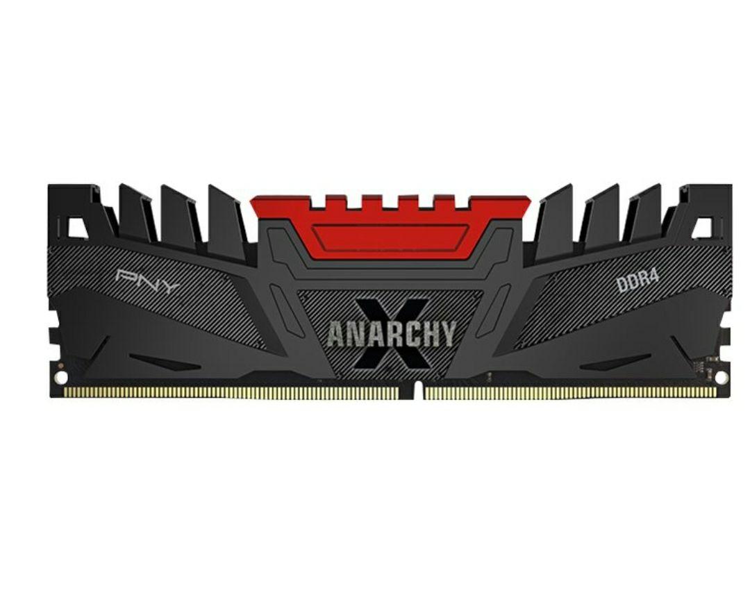 Kit Mémoire PNY Anarchy X - 16 Go (2 x 8 Go), DDR4, DIMM 288 broches