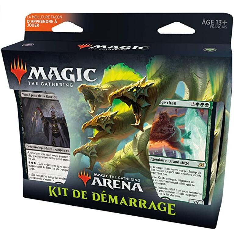 Kit de démarrage: Deux decks Magic The Gathering Arena (2 x 60 cartes)