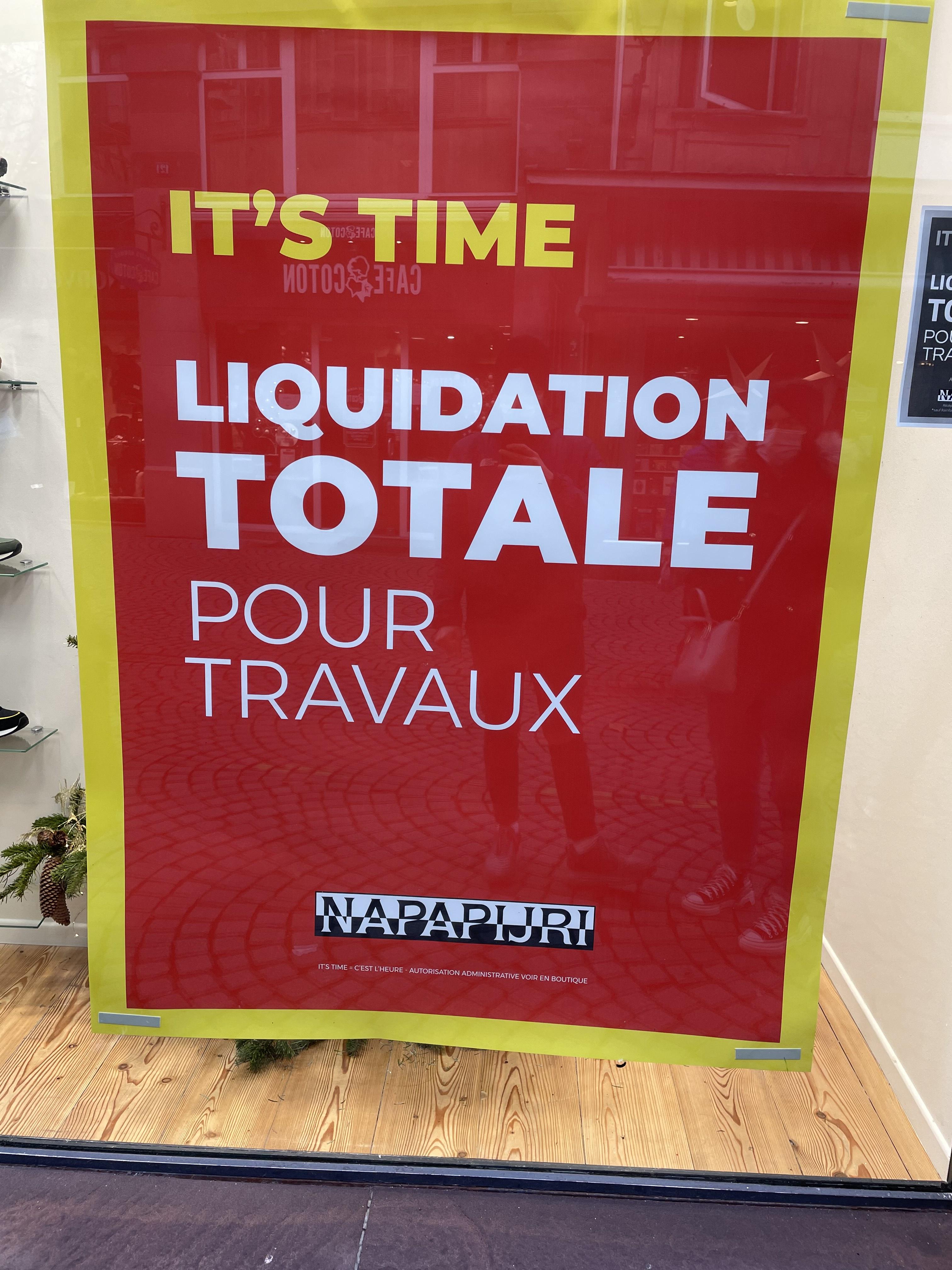 Sélection d'articles en promotion (liquidation totale) - Napapijri Strasbourg (67)