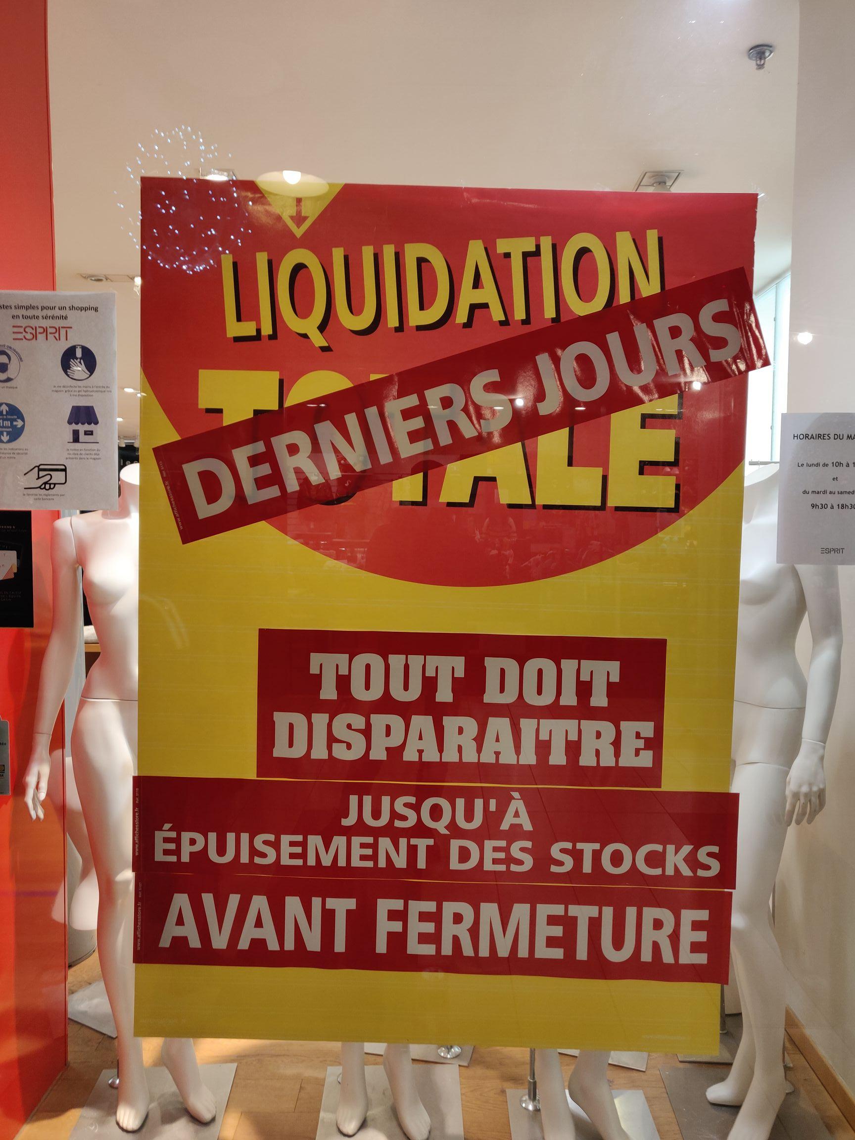 Liquidation totale sur tout le magasin - Sarreguemines (57)