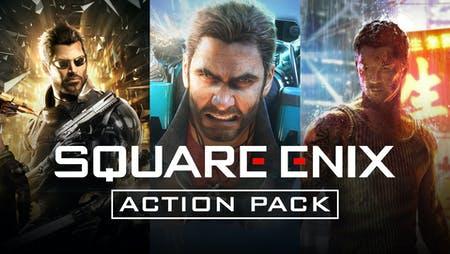 Square Enix Action Pack - Deus Ex: Mankind Divided, Just Cause 3 XXL Edition & Sleeping Dogs: Definitive Edition sur PC (Dématérialisés)