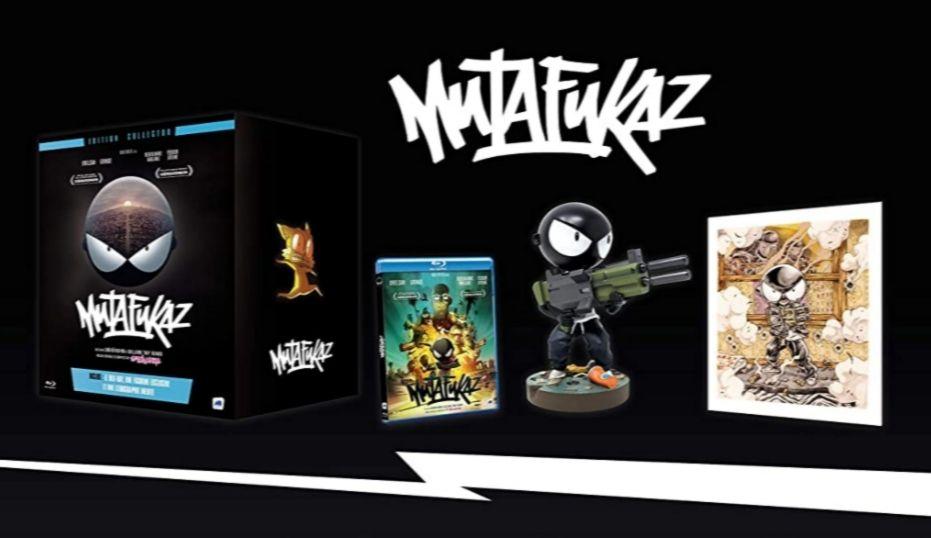 Coffret Blu-ray Mutafukaz : Édition collector + Figurine