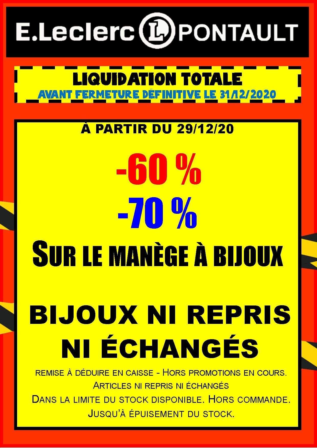 De 60 à 70% de réduction sur le manège à bijoux - Pontault Combault (77)