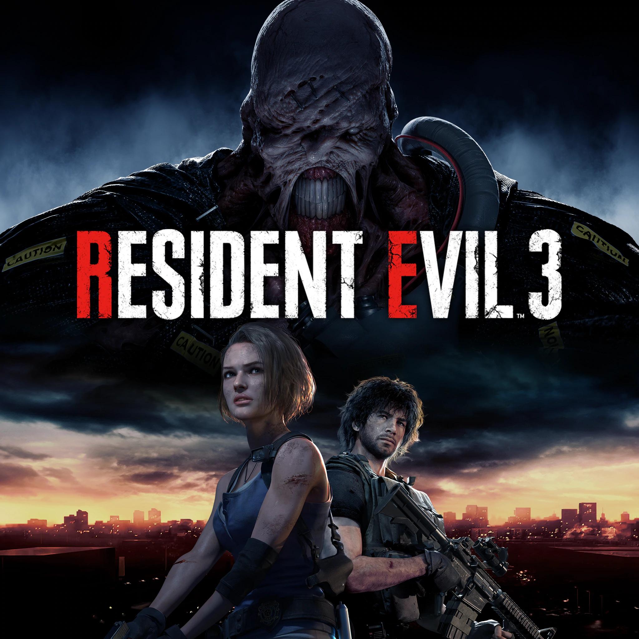 Resident Evil 3 sur PS4 (dématérialisé)
