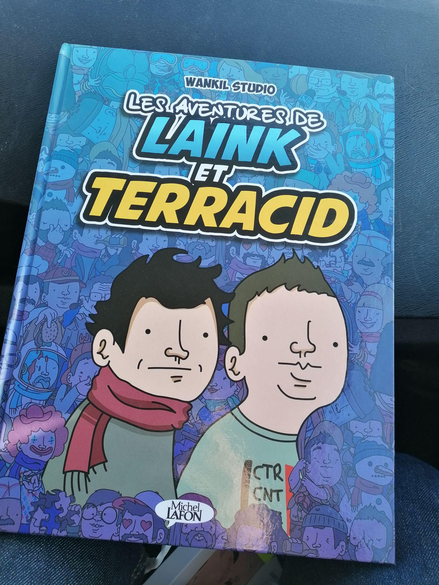 Bande dessinée Wankil Studio Les Aventures de Laink et Terracid - Chauray (79)