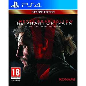 [Cdiscount à Volonté] Metal Gear Solid V : The Phantom Pain Edition Day one sur PS4