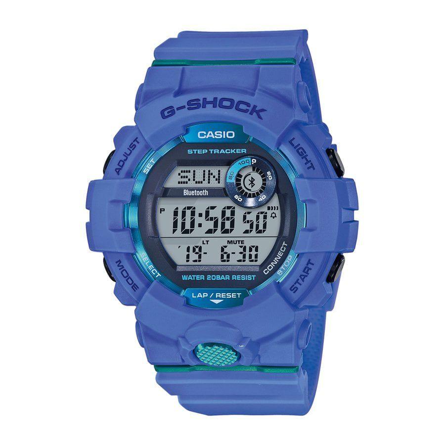 Montre Casio G-shock GBD-800-2ER avec podomètre - Bluetooth