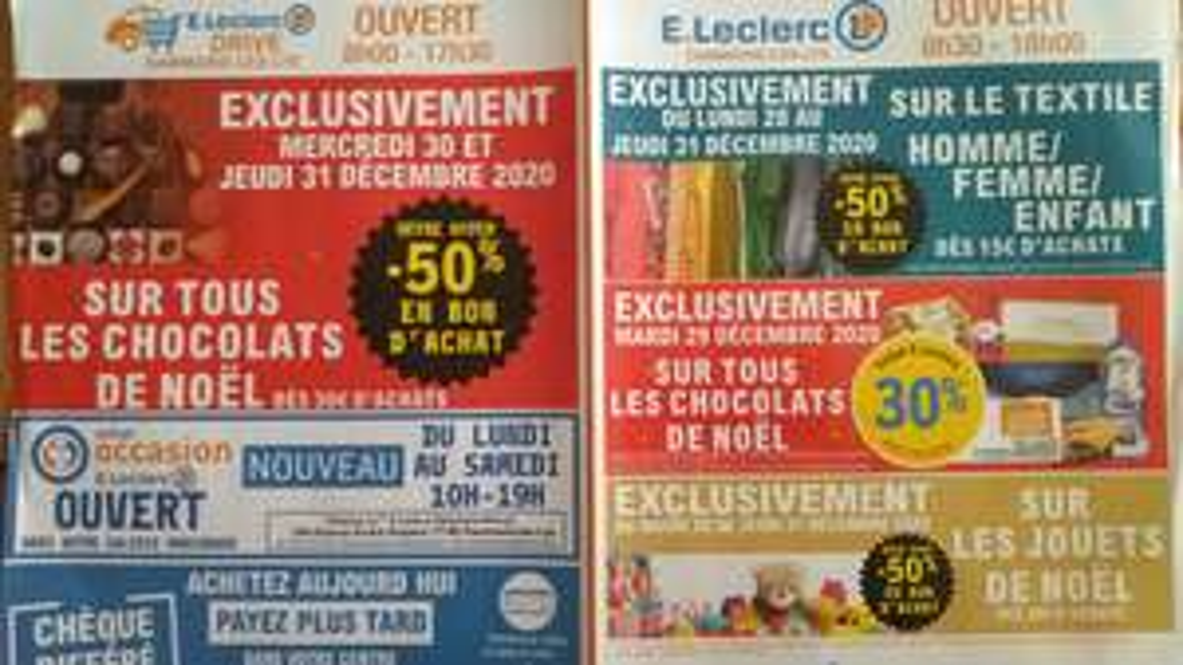 Sélection d'offres promotionnelles - Ex: 50% du montant crédités en bon d'achat dès 30€ d'achat sur les jouets - Dammarie Les Lys (77)