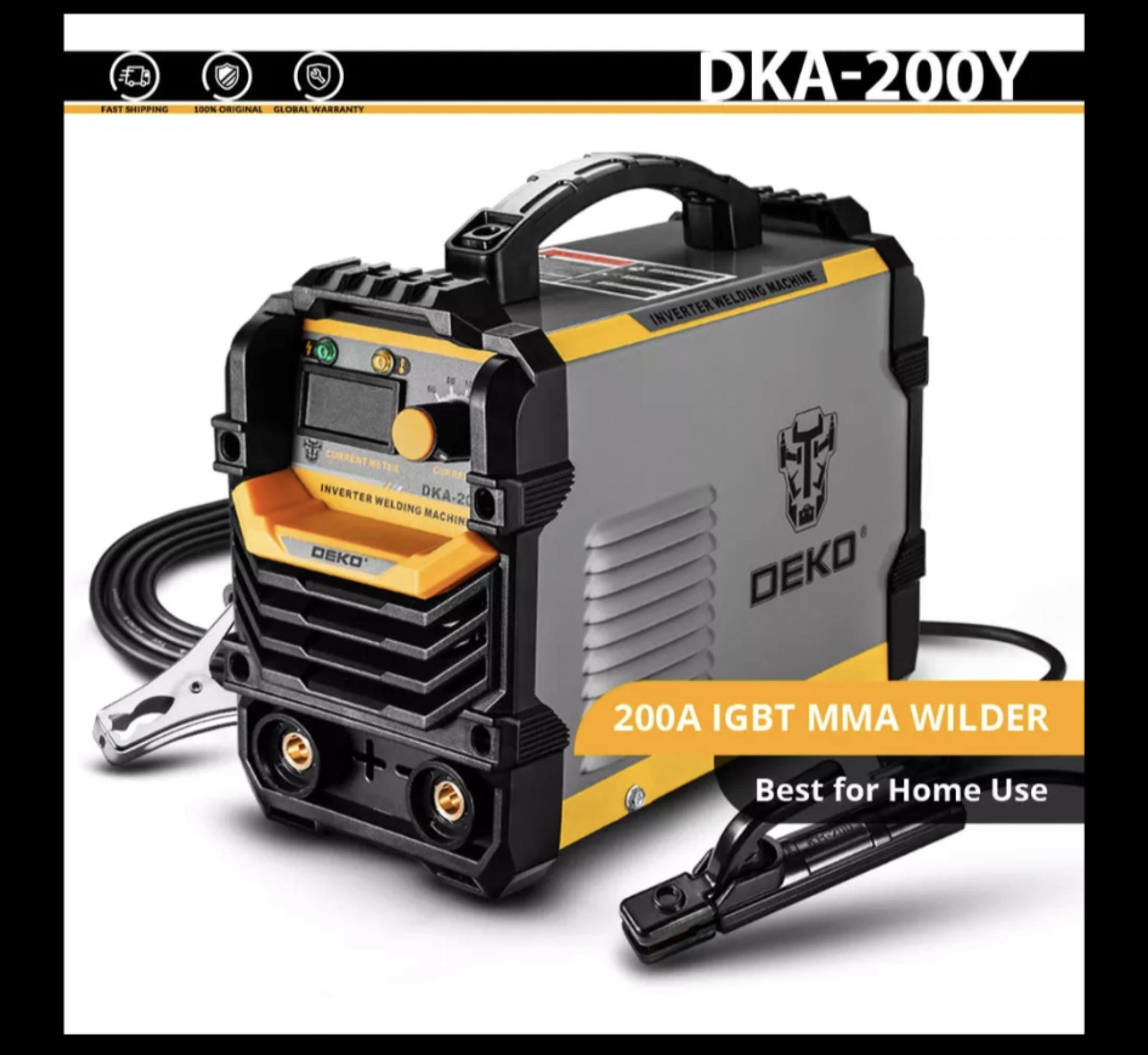 Poste à souder inverter Dekopro DKA-200 - 200 Ampères