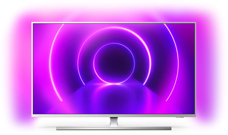 "TV 50"" Philips The One 50PUS8545 (4K UHD, LED, Smart TV, Ambilight 3 côtés) + 10 films offerts sur Rakuten TV"