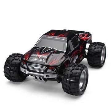 Voiture RC 1:18 WLToys 4WD Monster Camion A979 - 50 km/h, bleu ou noir (entrepôt Rép. Tchèque)