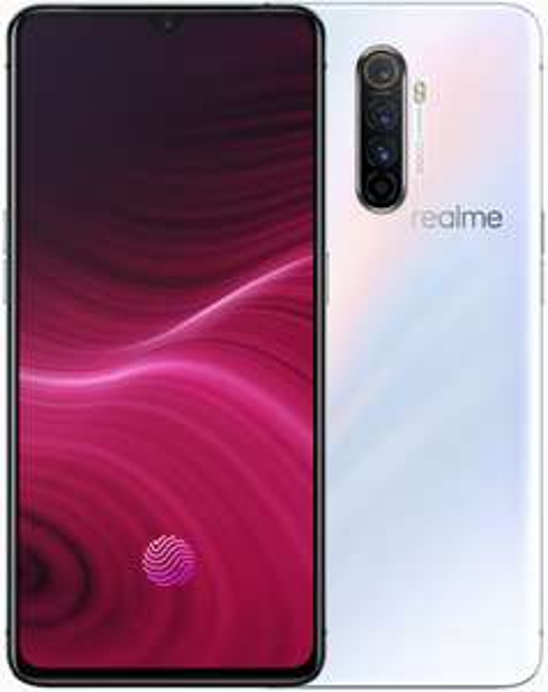 """Smartphone 6.5"""" Realme X2 Pro (full HD+, SnapDragon 855+, 8 Go de RAM, 128 Go, blanc) + écouteurs Realme Buds 2 - buy.Realme.com"""