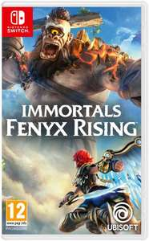 Immortals Fenyx Rising sur Nintendo Switch + Porte-clé Les Lapins Crétins offert