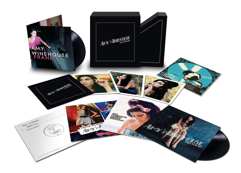 """Coffret de 8 vinyles Amy Winehouse """"The Collection"""""""