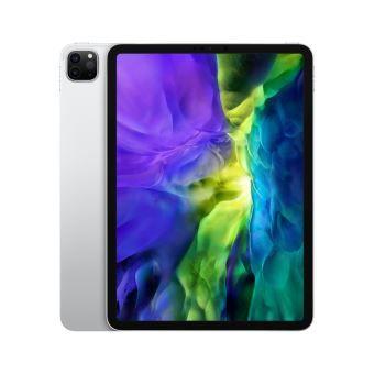 Tablette Apple iPad Pro 11 2020 - Wi-Fi, 128Go (tecobuyfr.com) avec protecteur d'écran et étui pliable (Noir)