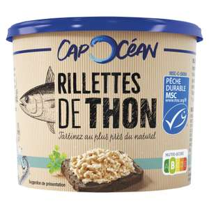 Lot de 3 rillettes de thon Cap Océan - 3 x 150g (Via Shopmium)