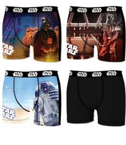 Lot de 4 Boxers homme Star Wars