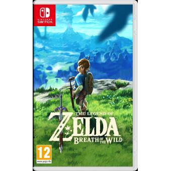 Jeu The Legend of Zelda : Breath of the Wild sur Nintendo Switch (+ 5€ offerts pour les adhérents)