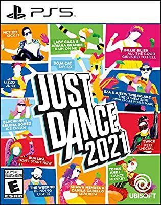 Jeu Just Dance 2021 sur PS4, PS5, Xbox One ou Nintendo Switch (Frais de port & d'importation inclus)
