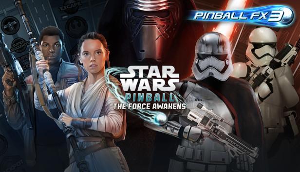 Sélection de jeux flipper Pinball FX3 - Ex: Pack Star Wars : The Force Awakens (PC - Dématérialisé)
