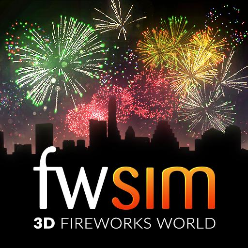 Application FWsim - Simulateur de feux d'artifice gratuite sur PC (Dématérialisé)