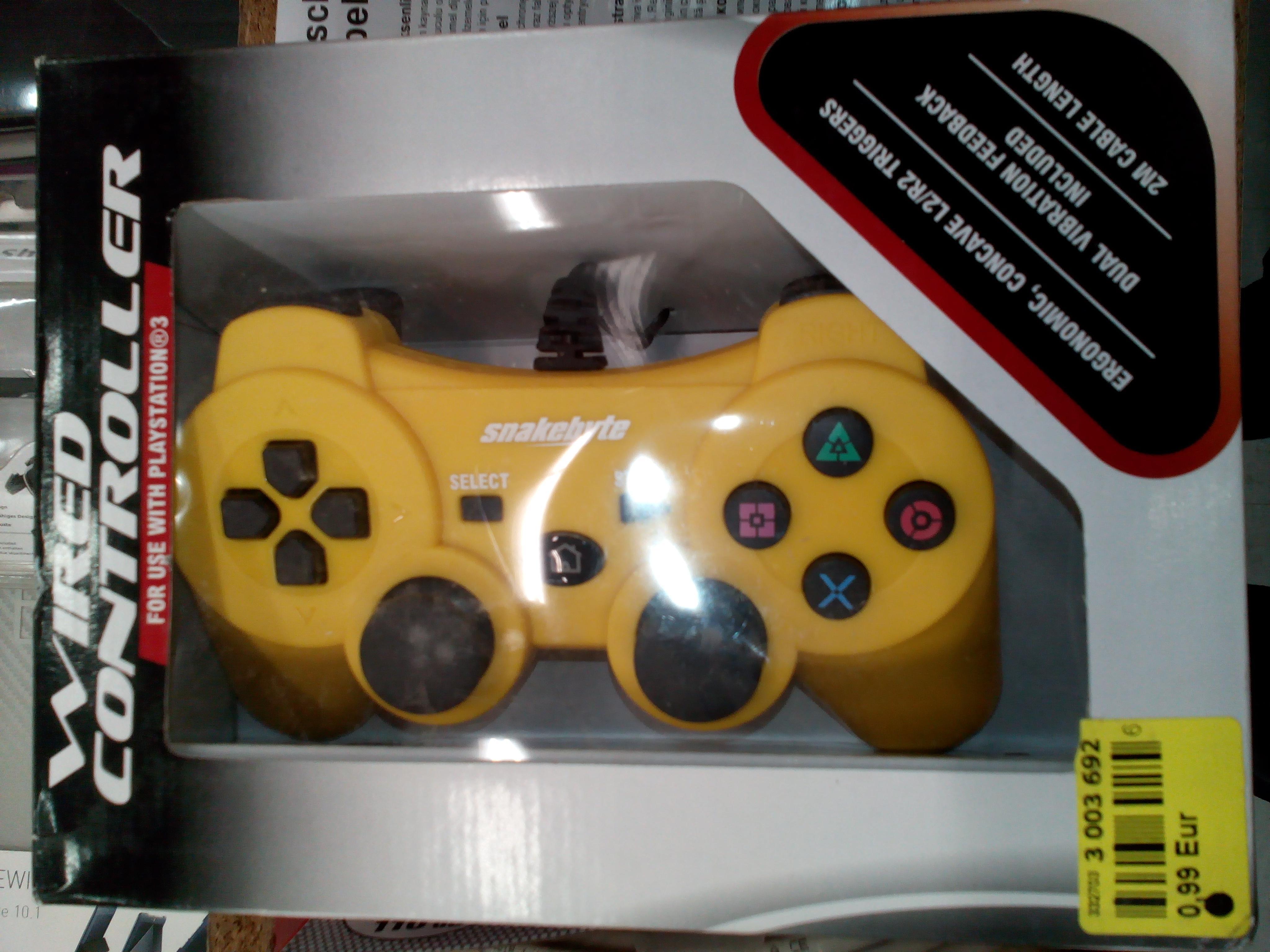 Manette filaire  (non officielle)  pour  PlayStation 3