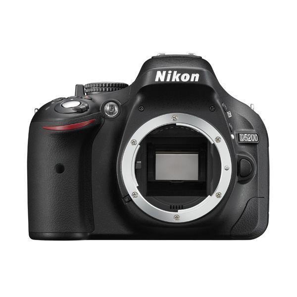 Réflex Nikon D5200 nu (+Jusqu'à 49.50€ en super points)