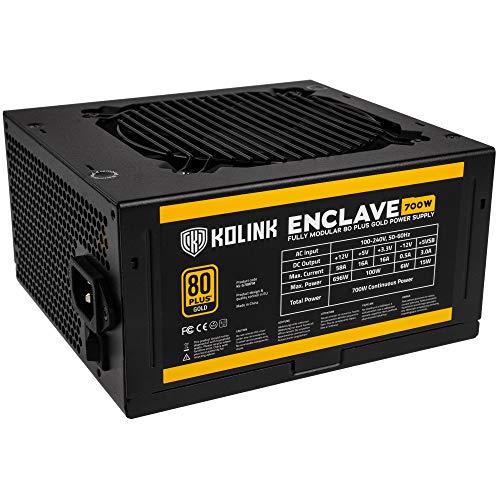 Alimentation modulaire PC Kolink Enclave - 80+ Gold, 700 W (vendeur tiers)