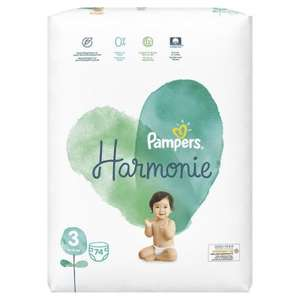 Pack de 74 couches Pampers Harmonie (taille 3) - LeParaStore.com